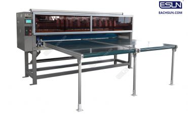 Panel Cutting with Conveyer Machine