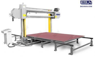 Horizontal Re-Bonding Foam Cutting Machinery