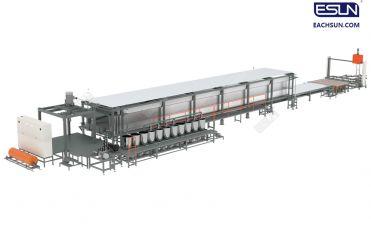 Full Automatic Continuous Horizontal PU Foaming Machine