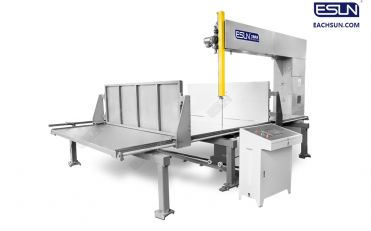 Automatic Vertical Foam Cutting Machine (double baffle)
