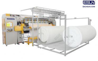 High Speed Computerized Multi needle Chain Stitch Quilting Machine