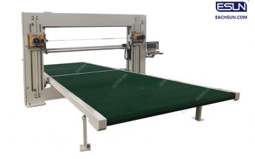 Horizontal Blade Foam Cutting Machine
